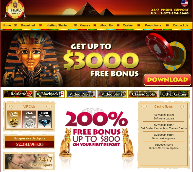 Thebes online casino driving directions to sugar creek casino